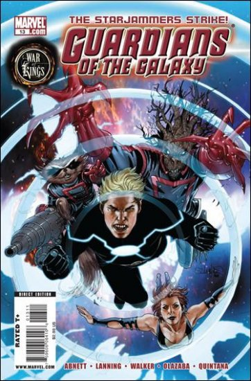 GUARDIANS OF THE GALAXY #13 NM (2009) *WAR OF KINGS*