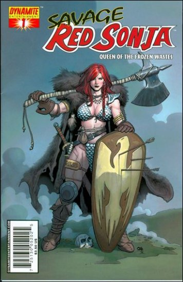 """SAVAGE RED SONJA #1 CHO """"A"""" COVER"""