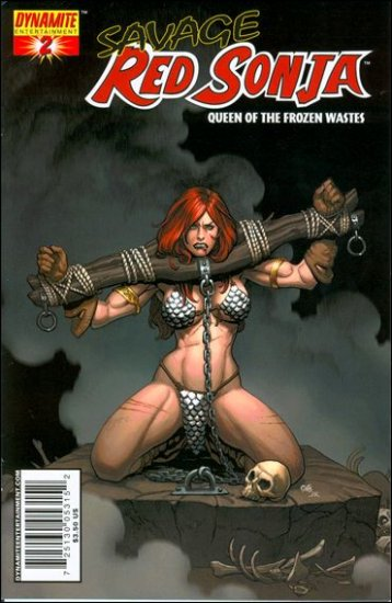 "SAVAGE RED SONJA #2 CHO ""A"" COVER"