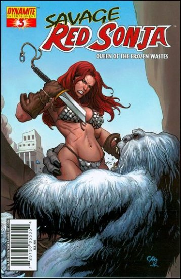 """SAVAGE RED SONJA #3 CHO """"A"""" COVER"""