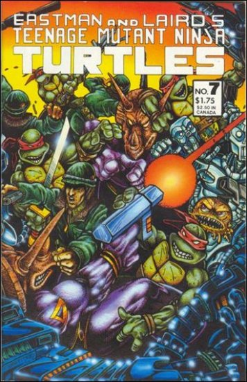 TEENAGE MUTANT NINJA TURTLES VOL 1 #7