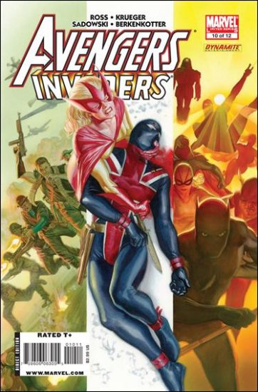 AVENGERS INVADERS #10 NM (2009)