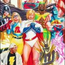 "JUSTICE SOCIETY OF AMERICA #26 NM (2009) ""C"" COVER"