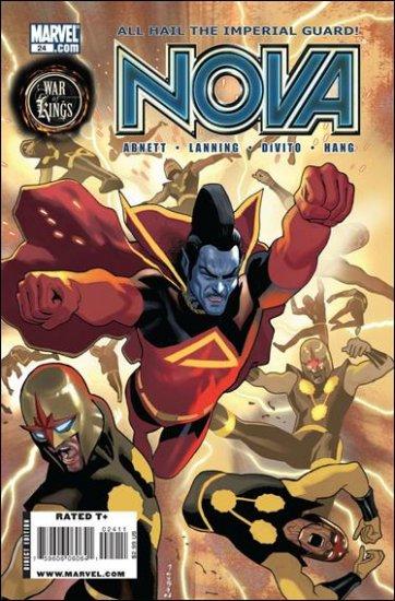 NOVA #24 NM (2009) *WAR OF KINGS*