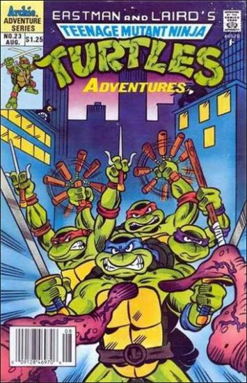TEENAGE MUTANT NINJA TURTLES ADVENTURES VOL 2 #23 *ARCHIE*