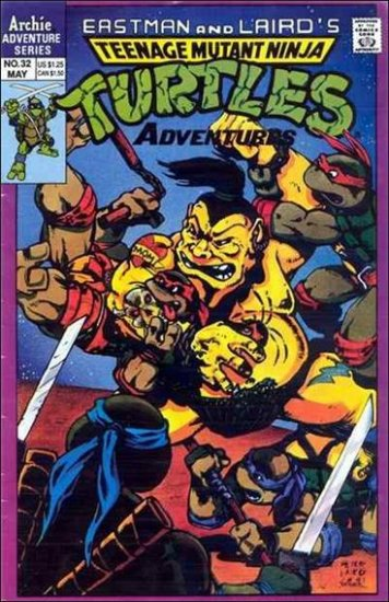 TEENAGE MUTANT NINJA TURTLES ADVENTURES VOL 2 #32 *ARCHIE*