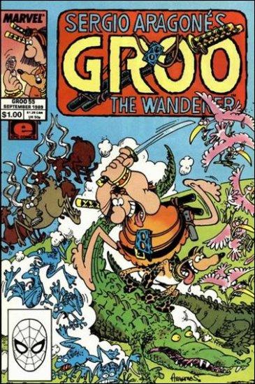 GROO #55 (1985) VF/NM