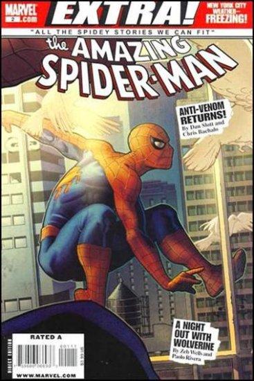 """AMAZING SPIDER-MAN EXTRA #2 NM (2009) """"ANTI-VENOM"""""""