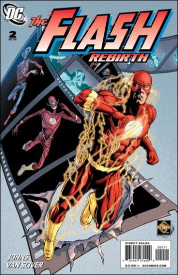 FLASH REBIRTH #2 NM (2009)