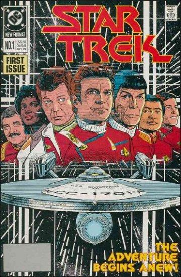 STAR TREK  #1  VF/NM (1989)