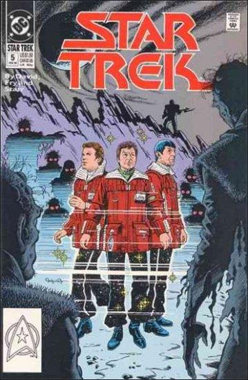 STAR TREK  #5 VF/NM (1989)