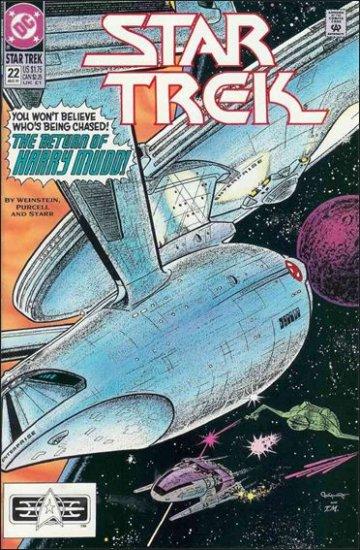 STAR TREK  #22 VF/NM (1989)