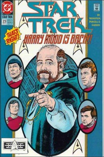 STAR TREK  #23 VF  (1989)