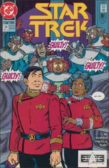 STAR TREK  #31 VF/NM  (1989)