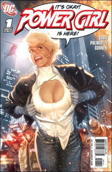 POWER GIRL #1 NM (2009) A COVER