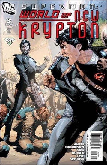 SUPERMAN: WORLD OF NEW KRYPTON #3 NM (2009)