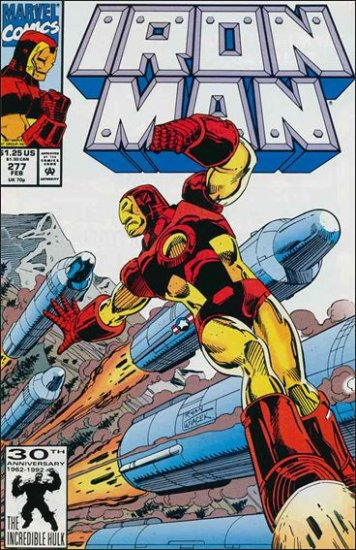 IRON MAN #277 VF/NM (1968)