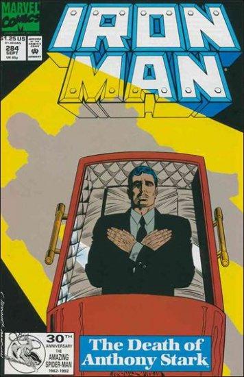 IRON MAN #284 VF/NM (1968)