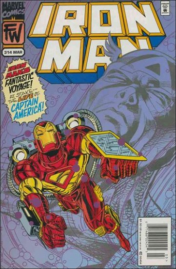 IRON MAN #314 VF/NM (1968)