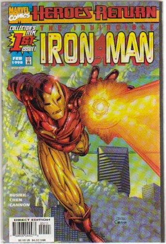 IRON MAN #1 VF/NM (1998) HEROES RETURN