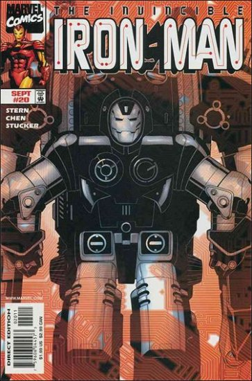 IRON MAN #20 VF/NM (1998) WAR MACHINE