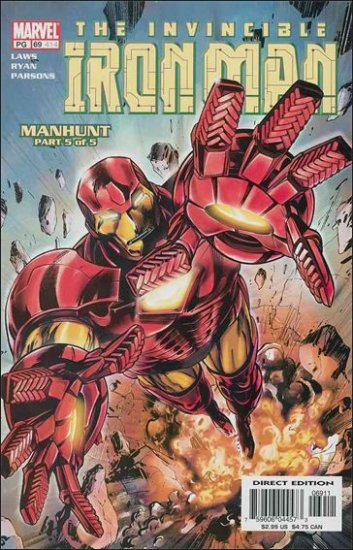 IRON MAN #69 VF/NM (1998)