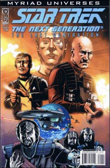 STAR TREK THE NEXT GENERATION: THE LAST GENERATION #1 NM (2008)