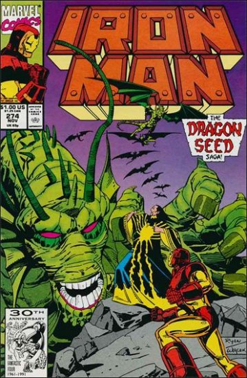 IRON MAN #274 VF/NM (1968)