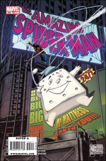 AMAZING SPIDER-MAN #594 NM (2009)