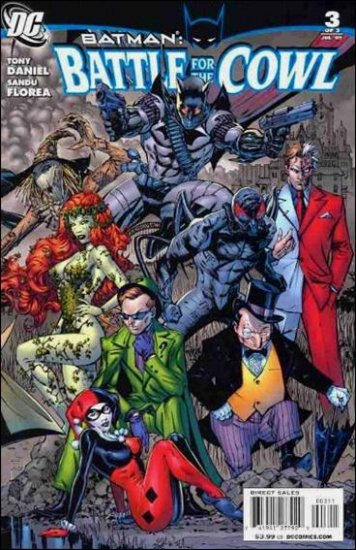 BATMAN: BATTLE FOR THE COWL #3 NM (2009)