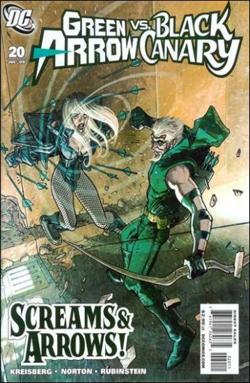 GREEN ARROW AND BLACK CANARY #20 NM (2009)