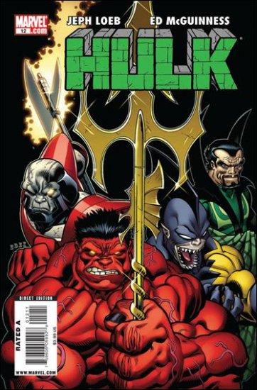 """HULK #12 NM (2009) COVER """"A"""""""