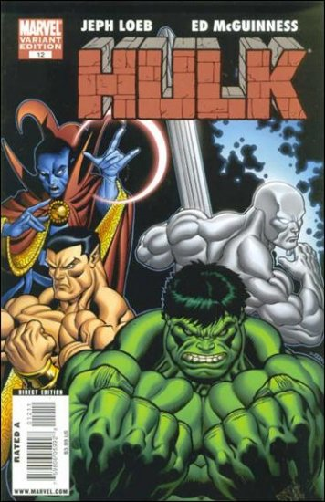 "HULK #12 NM (2009) COVER ""B"""
