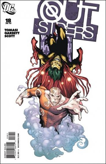 OUTSIDERS #18 NM (2009)