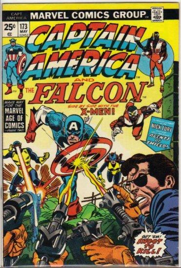 CAPTAIN AMERICA #173 F/VF (1968 VOL) *CAPTAIN AMERICA & THE FALCON W/ X-MEN*