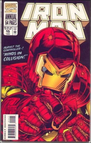 IRON MAN  ANNUAL #15 (1994)