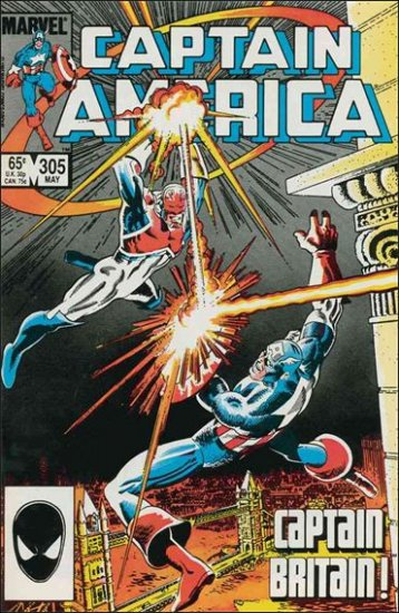 CAPTAIN AMERICA #305 (1968 VOL)