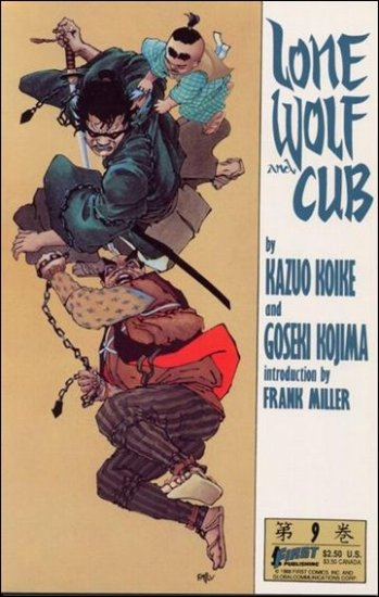 LONE WOLF AND CUB #9 VF/NM (1987)