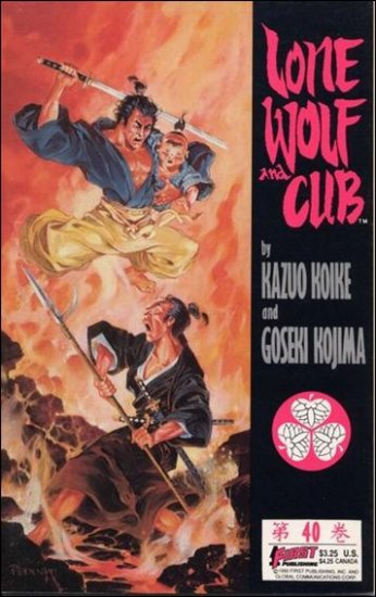 LONE WOLF AND CUB #40 VF/NM (1987)
