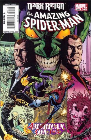 AMAZING SPIDER-MAN #595 NM (2009)