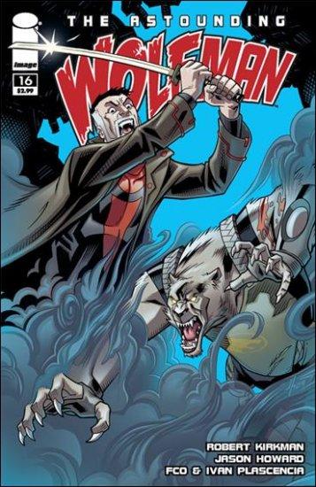 ASTOUNDING WOLF-MAN #16 NM (2009)*IMAGE*