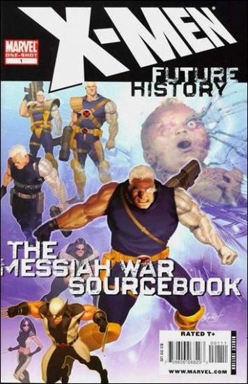 X-MEN FUTURE HISTORY: THE MESSIAH WAR SOURCEBOOK #1 NM (2009)