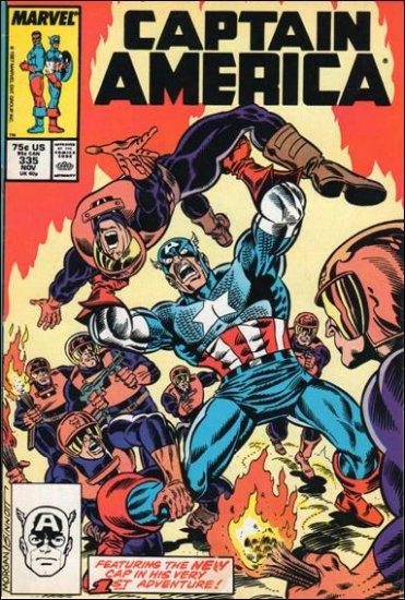 CAPTAIN AMERICA #335 (1968 VOL)