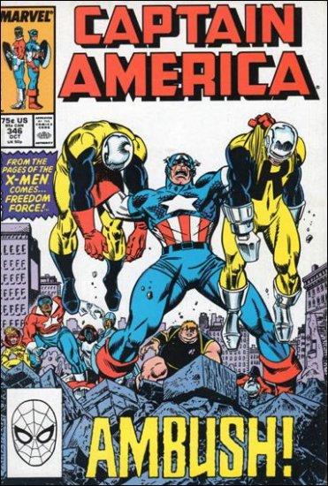 CAPTAIN AMERICA #346 (1968 VOL)