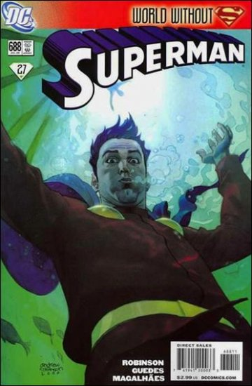 SUPERMAN #688 NM (2009) *WORLD WITHOUT SUPERMAN*