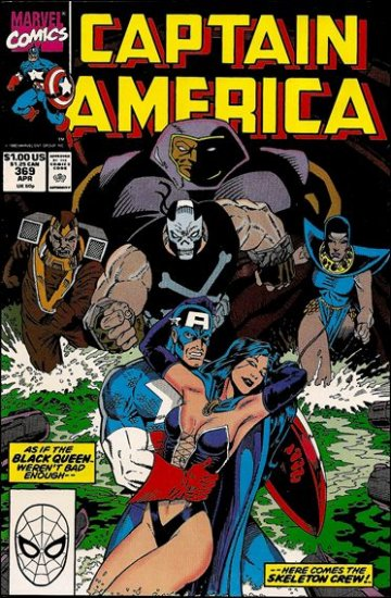 CAPTAIN AMERICA #369 (1968 VOL)