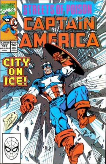 CAPTAIN AMERICA #372 (1968 VOL) *STREETS OF POISON*