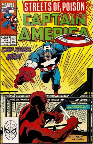 CAPTAIN AMERICA #375 (1968 VOL) *STREETS OF POISON*