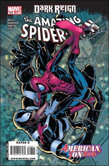 AMAZING SPIDER-MAN #596 NM (2009)