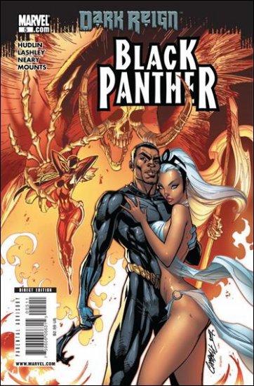 BLACK PANTHER #5 NM (2009)